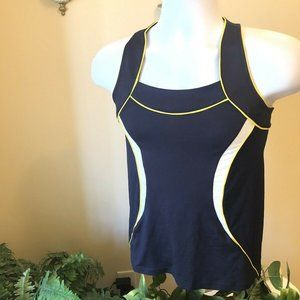 Navy blue Tail Racerback Tennis Athletic Womens